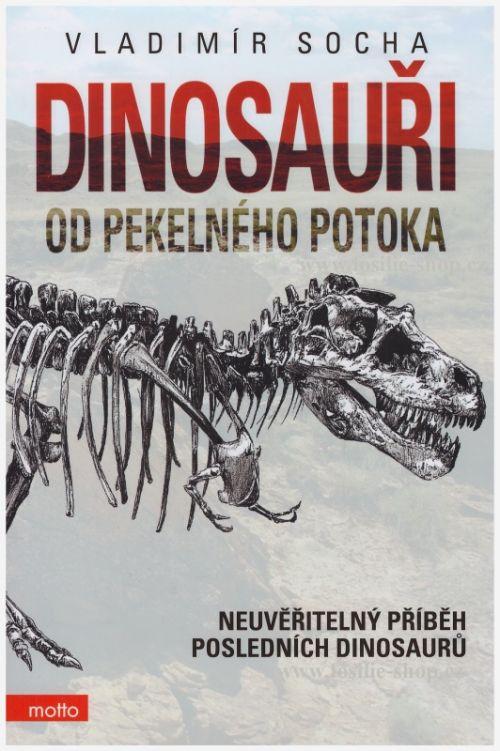 kniha Dinosauři od Pekelného potoka - Vladimír Socha - obálka