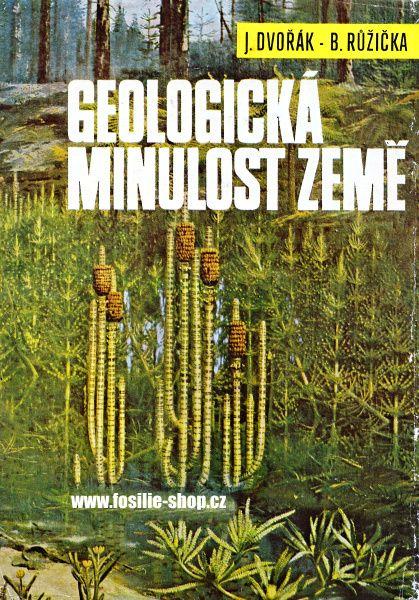 3. vydání - Geologická minulost Země - Dvořák, Růžička - přebal