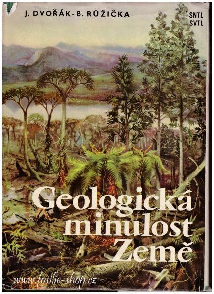 Geologická minulost Země - Dvořák, Růžička - přebal