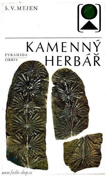 Obálka knihy - Kamenný herbář - S. V. Mejen
