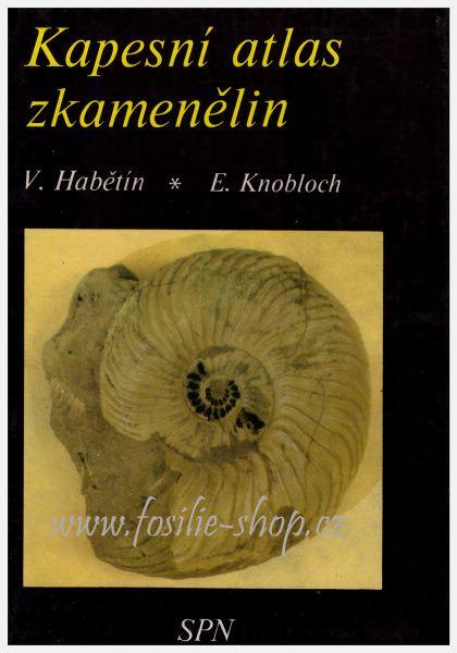 Kapesní atlas zkamenělin - Habětín, Knobloch - obálka