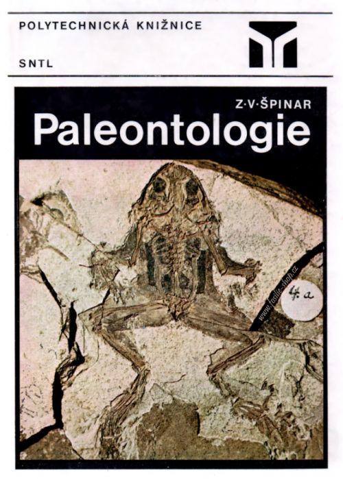 Obal knihy - Paleontologie - Zdeněk V. Špinar
