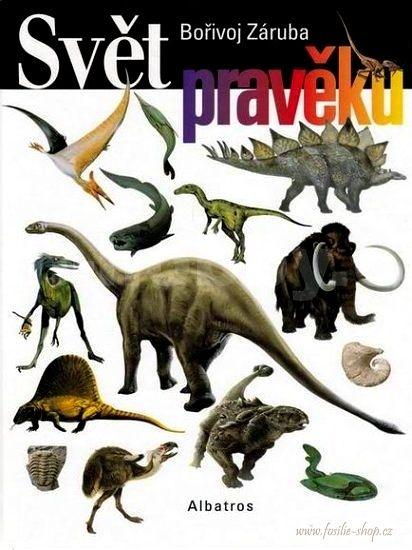 Obálka s dinosaury - Svět pravěku - Bořivoj Záruba 2001
