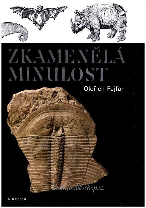 Kniha Zkamenělá minulost - Oldřich Fejfar - obálka