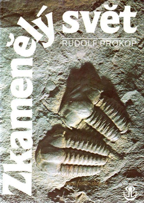 přebal knihy- Zkamenělý svět - Rudolf Prokop